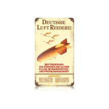 """""""Hindenburg Ad"""" Vintage Metal Sign Pasttime Signs"""