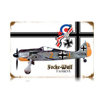 """Focke Wulf"" Vintage Metal Sign Pasttime Signs"