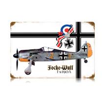 """Focke Wulf"" Vintage Metal Sign Pasttime Signs"