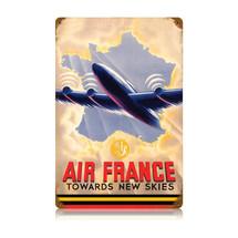 """""""Air France"""" Vintage Metal Sign Pasttime Signs"""