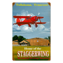 """""""Tullahoma"""" Vintage Metal Sign Pasttime Signs"""