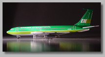"Braniff International 720 ~ ""Green"" Flying Colors"