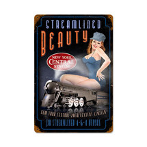 Streamlined Beauty Vintage Metal Sign Pasttime Signs