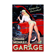 Grease Monkey Metal Sign Pasttime Signs