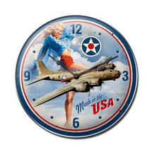 Made in USA Clock Pasttime Signs