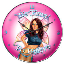 Believe in Fairies Clock Pasttime Signs