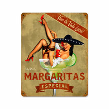 Margarita Especial Vintage Metal Sign Pasttime Signs