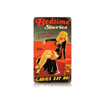 Bedtime Stories Vintage Metal Sign Pasttime Signs