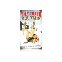 Mammoth Mountain Vintage Metal Sign Pasttime Signs