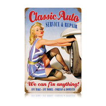 Classic Auto Vintage Metal Sign Pasttime Signs PT-V256