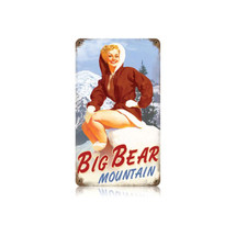 Big Bear Vintage Metal Sign Pasttime Signs