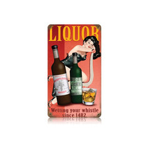 Liquor Vintage Metal Sign Pasttime Signs