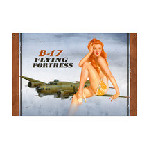 B17 Redhead Metal Sign Pasttime Signs