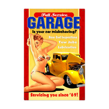 Full Service Garage Metal Sign Pasttime Signs