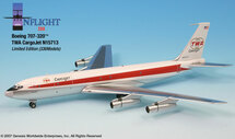 TWA Cargo Boeing 707-320