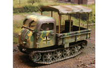 German Steyr RSO/01 Crawling Tractor Normandy 1944