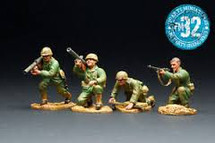 WWII U.S. Landing Force Figure Set