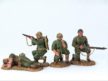 U.S. WWII Landing Force Figurines