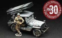 Jeep With Rockets 1:30 Figarti FG-ETA-048
