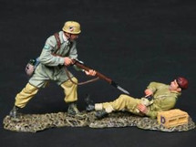 """Cold Steel"" Fallschirmjaeger vs. British Paratrooper, Tropical WWII"