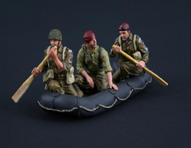 British Paratroopers in Dinghy