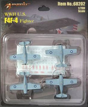 F4F-4 Fighter Planes WWII (Pre-Assembled)