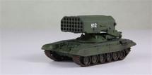 UVZ TOS-1 MRLS Soviet Army, #912, USSR, 1989