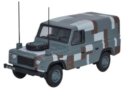 Oxford Military 1//76 Land Rover Series II Station Wagon British Army 76LAN2007