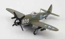 """P-47D Thunderbolt 226785, 1st Lt. Raymond Knight, """"Oh Johnnie"""""""