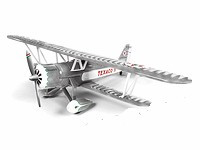 Stearman Biplane, 1931 - Wings of Texaco #23 in the Series