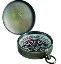 Small Compass, Bronzed Authentic Models