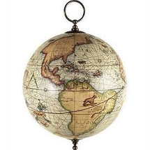 Terrestrial globe, Hanging Authentic Models