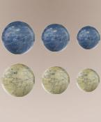 Mercator Sph., Ivory/Blue 14cm Authentic Models
