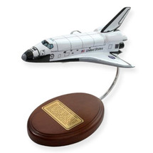 Space Shuttle Orbiter only wood (Columbia) Mastercraft Models