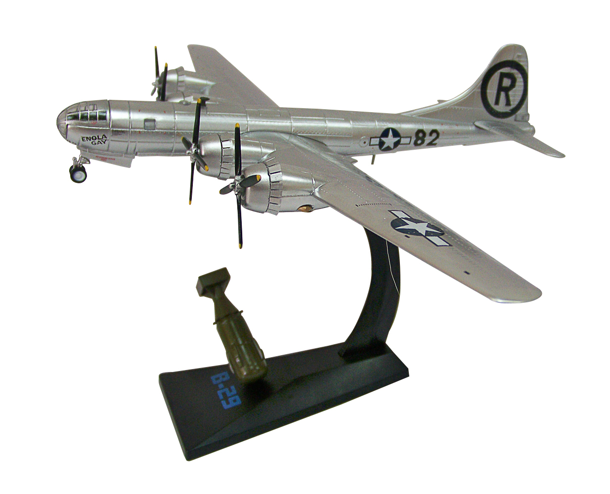 1:200 USA 1945 Boeing B-29 Enola Gay WWII Fighter Bomber