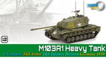 M103 Heavy Tank US Army 24th Infantry Div, #24, Germany, 1959
