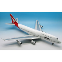 "Qantas Boeing 747-300 VH-EBT ""City of Wagga Wagga"" w/ Stand"