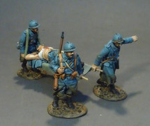 French Stretcher Team - The Great War (4 pcs)