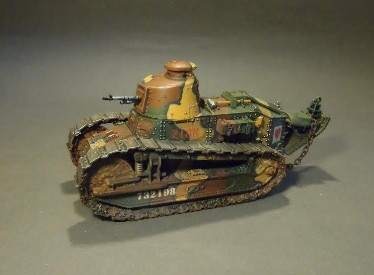 Renault Ft Hotchkiss The Great War 2pcs 1 30 John Jenkins