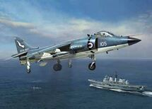 Sea Harrier FRS1 Royal Navy (Model Kit)