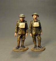 Artillery Crew Standing, The Royal Garrison Artillery, The Great War