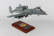 A-10A Thunderbolt Warthog CA10TE 1/40 Mahogany Display Model
