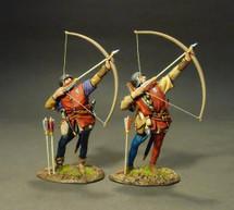 Yorkist Archers (Red Shirts)