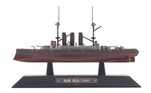 Shikishima-class Battleship IJN, Shikishima, 1900 - CLAMSHELL ONLY
