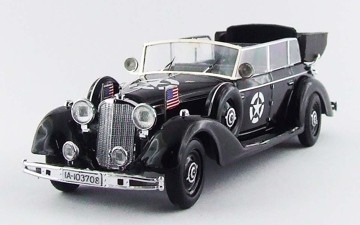 SIGNATURE 1//43 WWII GERMAN MERCEDES BENZ 770K PARADE CAR DIECAST MODEL