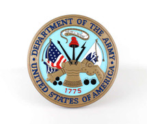 US Army Wall Plaque Display