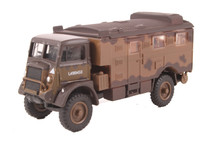 QLR Signals Vehicle British Army 1st Infantry Div, 1942