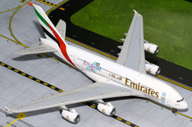 """Emirates Airlines """"England Rugby World Cup"""" A380-800 Gemini Model"""