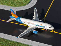Allegiant Air A319, N301NV Gemini Diecast Display Model