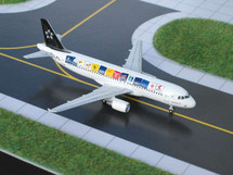 Austrian Airlines A320-200 Gemini Diecast Display Model